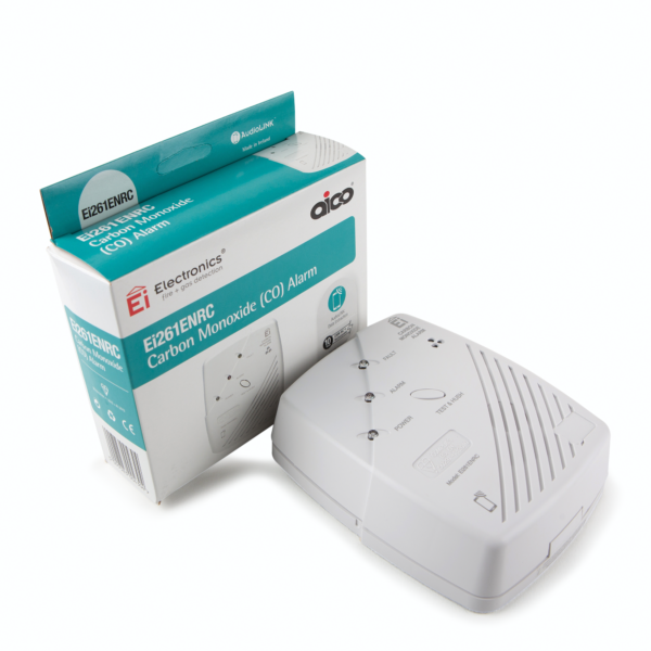 Ei261ENRC Mains Powered CO Alarm