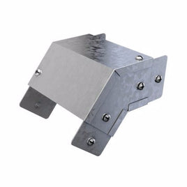 Trench Elbow 45° Outside Lid 75mm x 75mm Galvanised