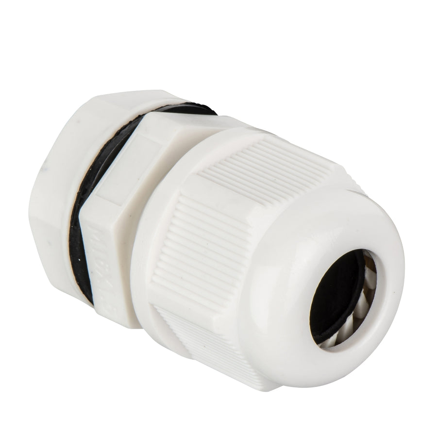 Dome top gland 16mm white