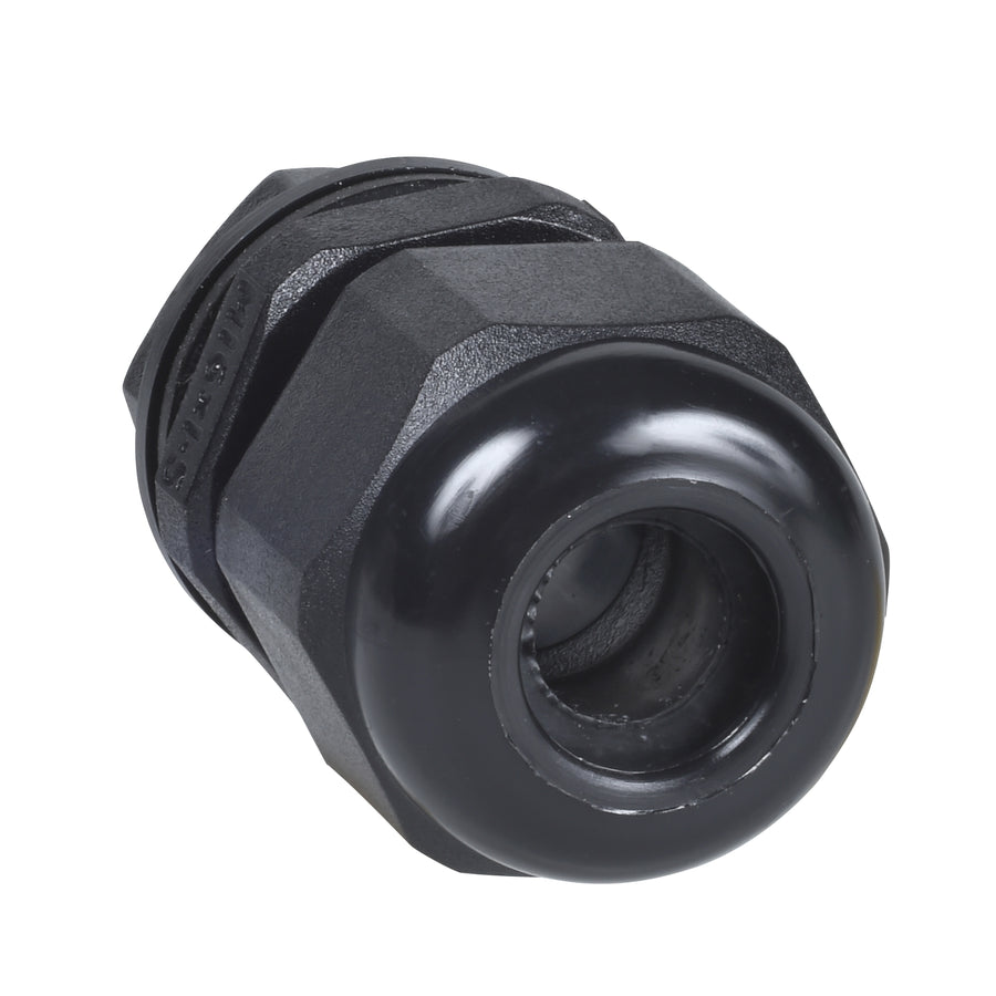 Dome top gland 16mm black