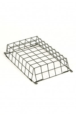 Suitable For Low Profile Bell Boxes 400mm x 250mm x 100mm Wire Guard Black