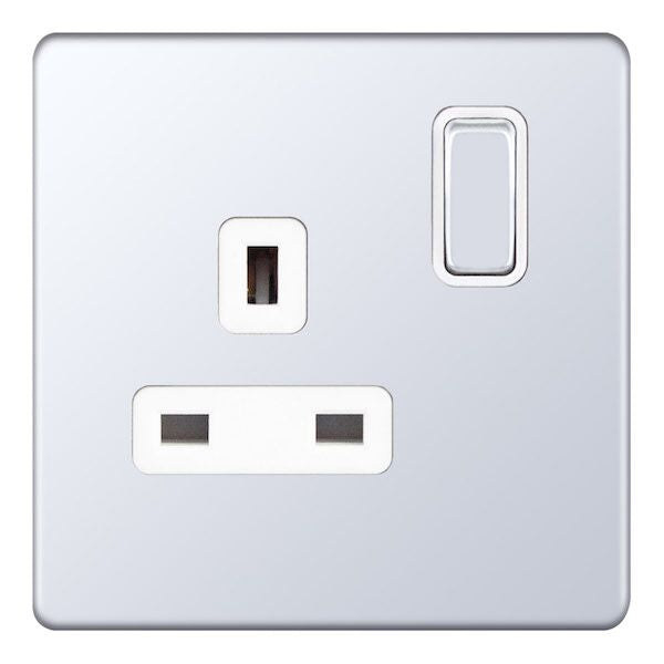 1 Gang Switched DP - 13 Amp Socket Outlets 5M-Plus
