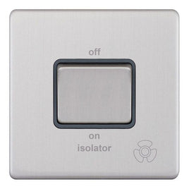 3 Pole Fan Isolator X-Rated 5M-Plus Plate Switches