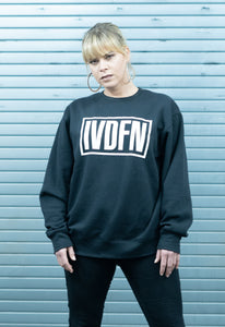 IVDFN BOX SWEATER (schwarz)