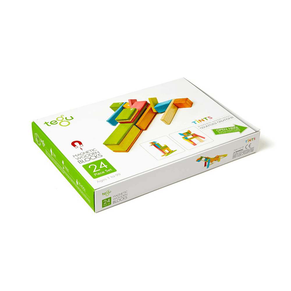 Tegu Classics Tints 24 Pieces