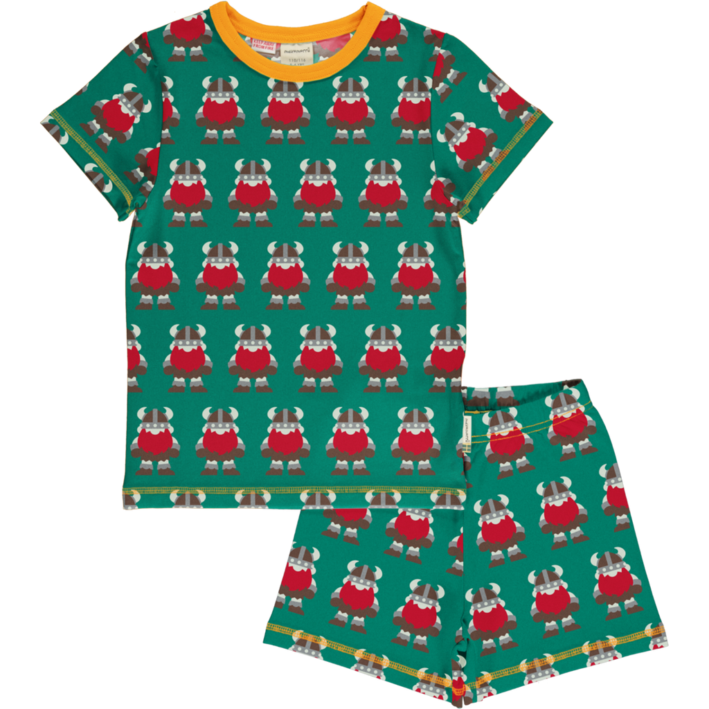 Maxomorra Viking Pyjama Set SS