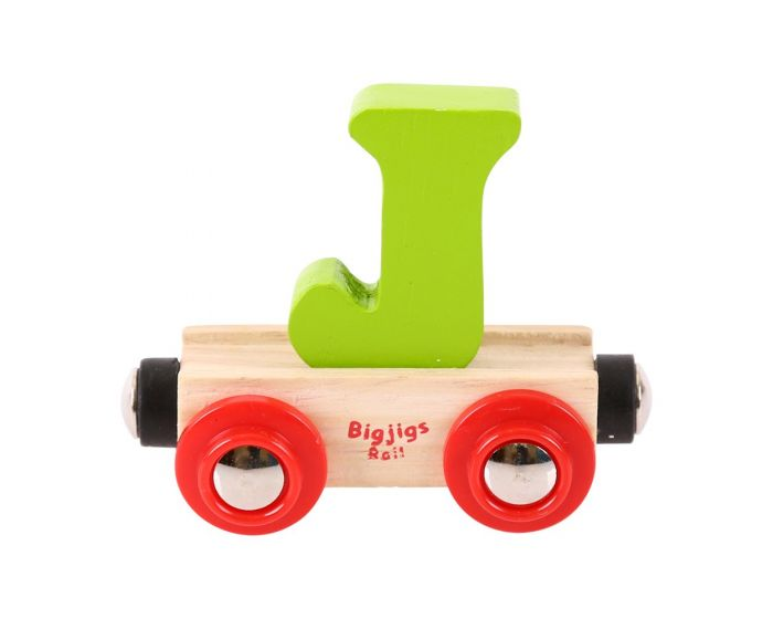 BigJigs Rail Name Letter Carriages