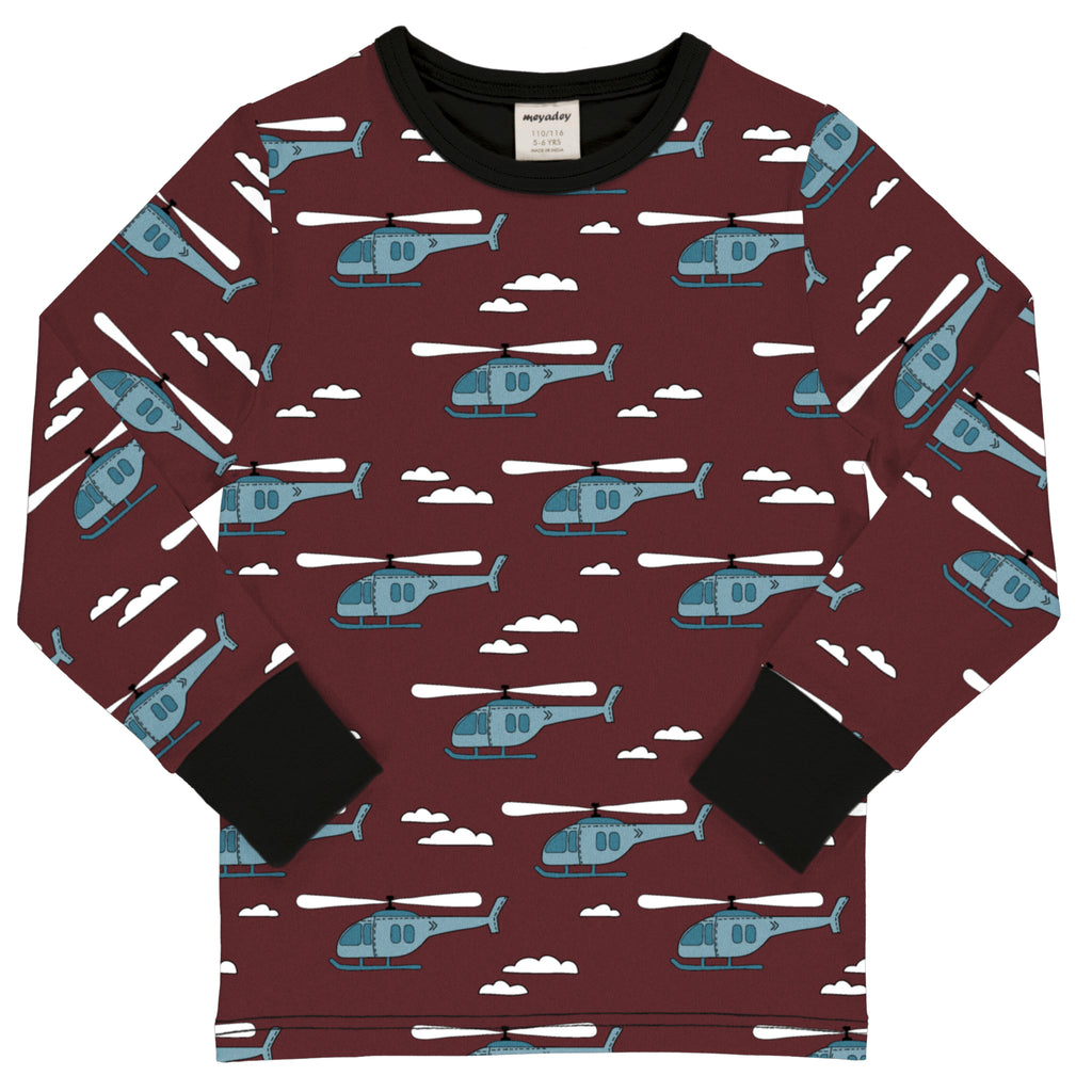 Maxomorra Long Sleeved Helicopter Skies
