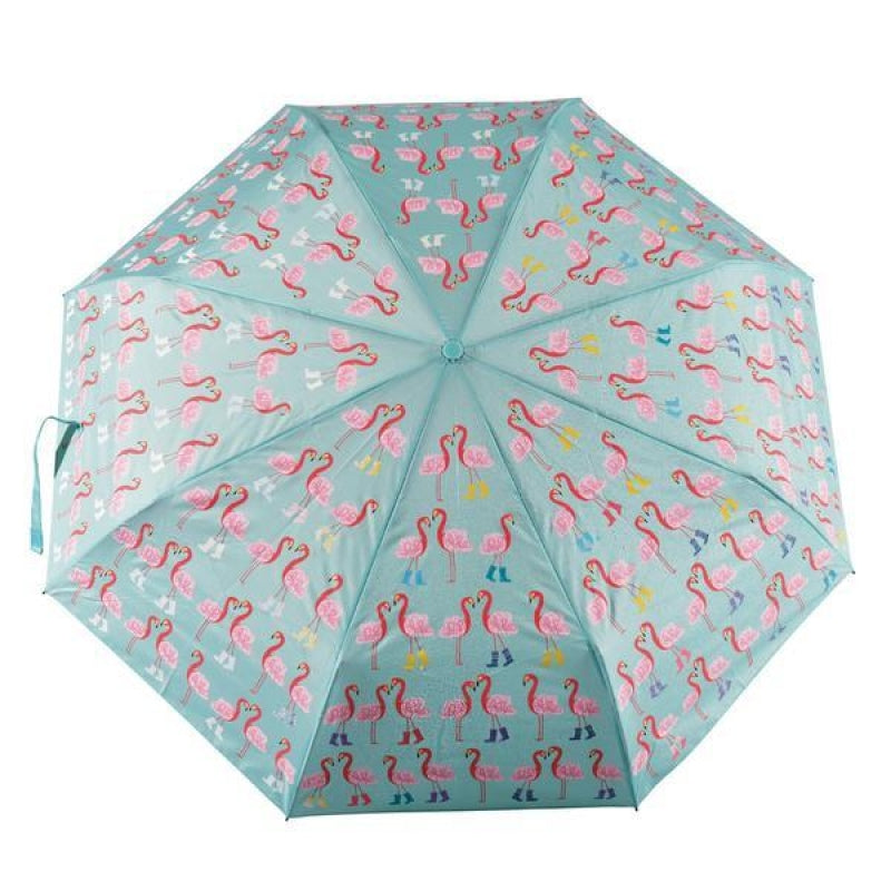 Floss and Rock Colour Changing Flamingo Umbrella