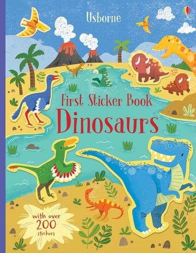First Sticker Book Dinosaurs