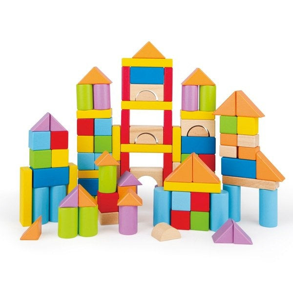 Hape Wonderful Beech Blocks- 101 Pcs