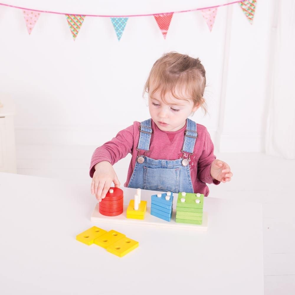Big Jigs Shape Peg Board