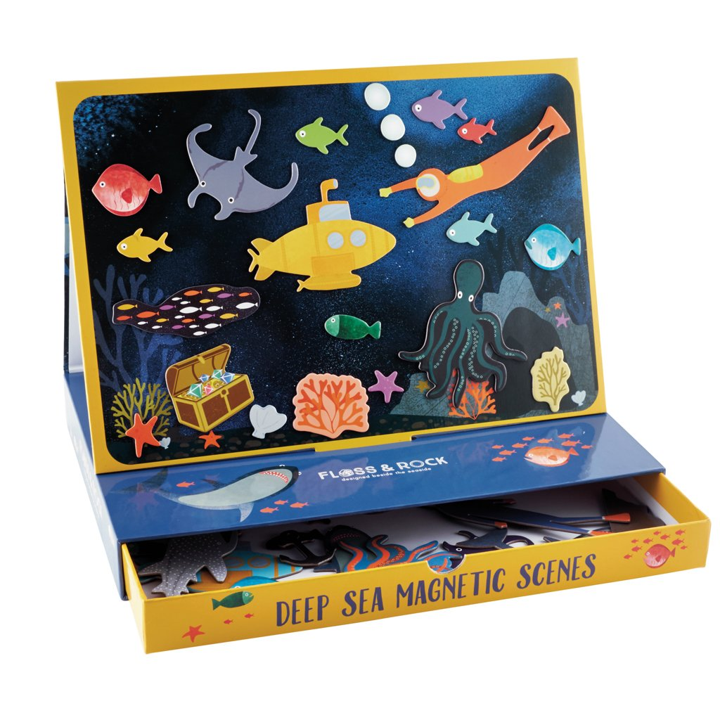 Floss and Rock Deep Sea Magnetic Scenes