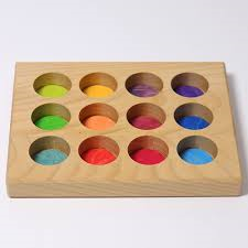 Grimms Rainbow Sorting Board