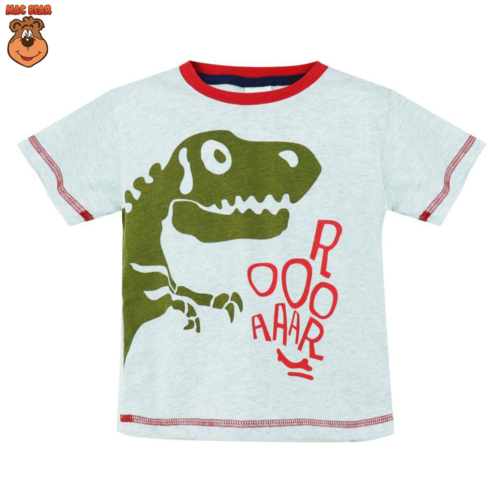 MacBear Junior Baju Anak Atasan Dino Bone Roar