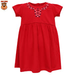 MacBee Kids Baju Anak Dress Flower Collar