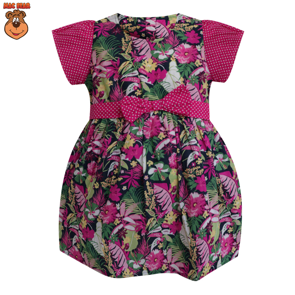 MacBee Junior Baju Anak Dress Kazumi Flowers