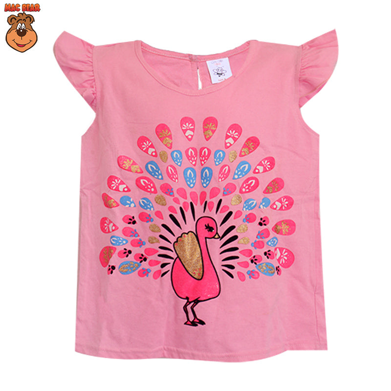 MacBee Junior Baju Anak Atasan Peacock Wonderful
