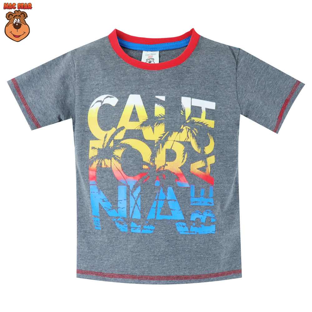 MacBear Junior Baju Anak Atasan Rainbow California