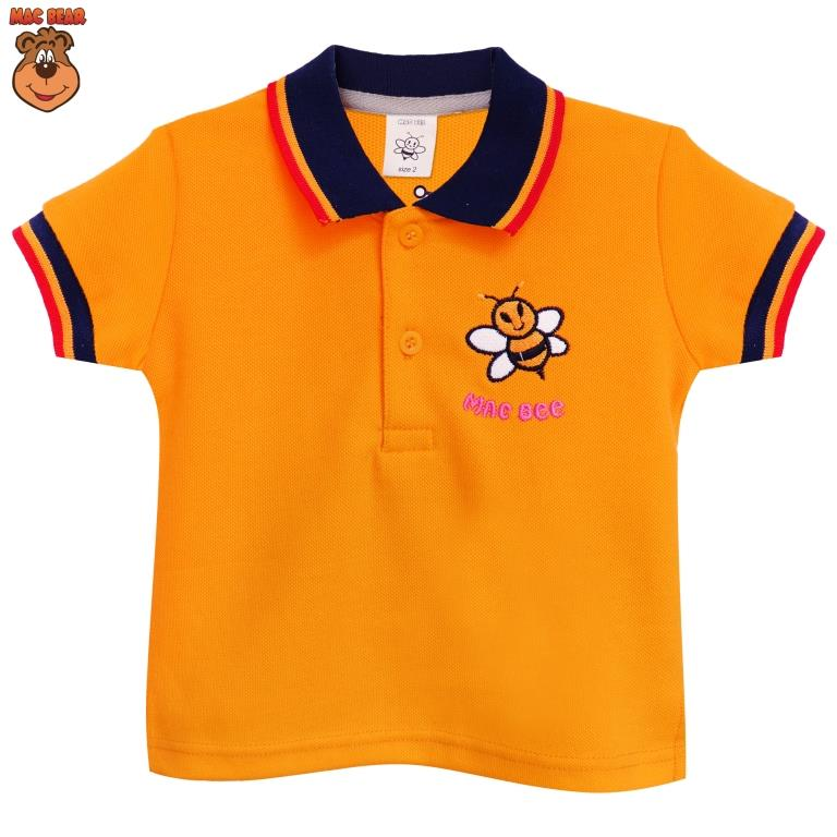 MacBee Junior Baju Anak Atasan Polo Honey Bee