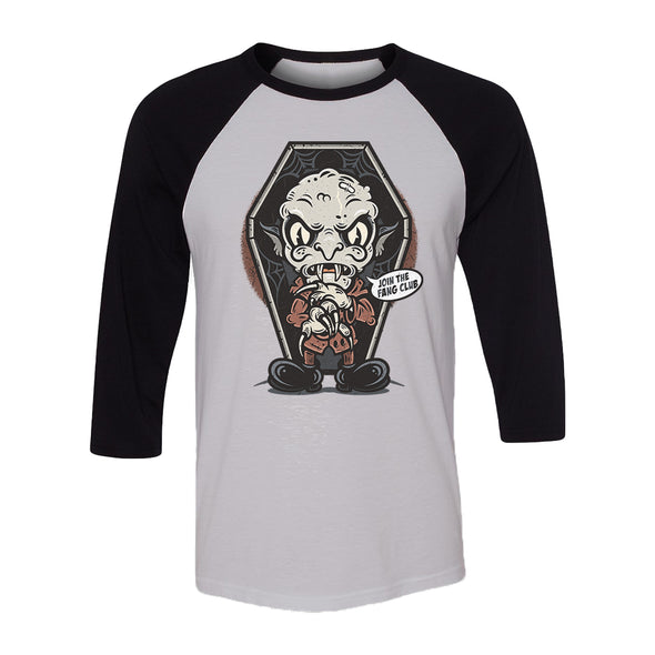 Join The Fang Club Unisex Raglan