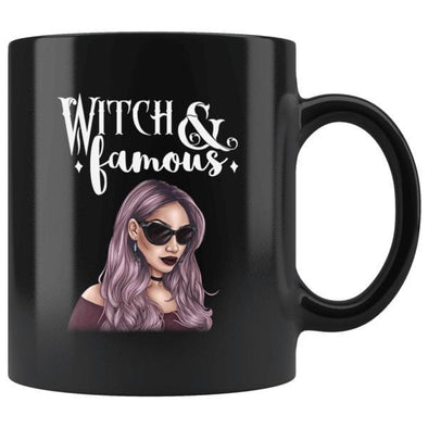 teelaunch Drinkware 11oz Witch and Famous Mug