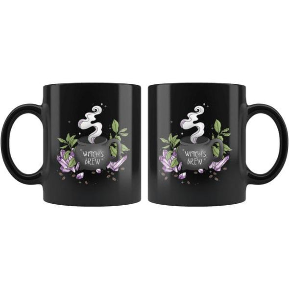 teelaunch Drinkware 11oz Witch's Brew Mug