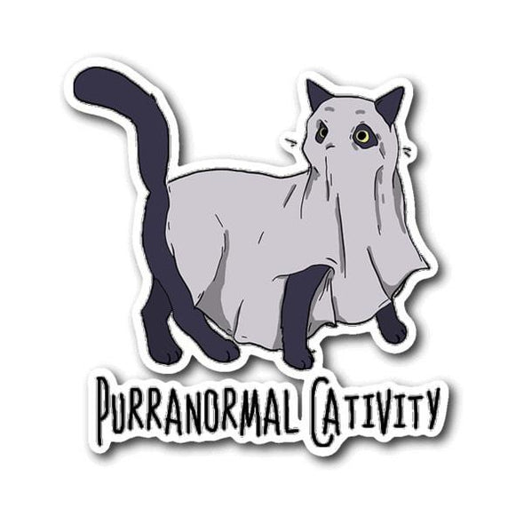 teelaunch Stickers Sticker Purranormal Cativity Sticker