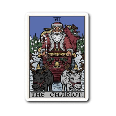teelaunch Stickers Sticker The Chariot - Christmas Edition Sticker