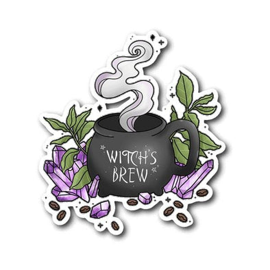 teelaunch Stickers Sticker Witch's Brew Sticker