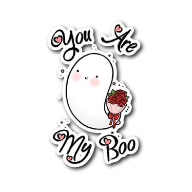 teelaunch Stickers Sticker You Are My Boo Sticker