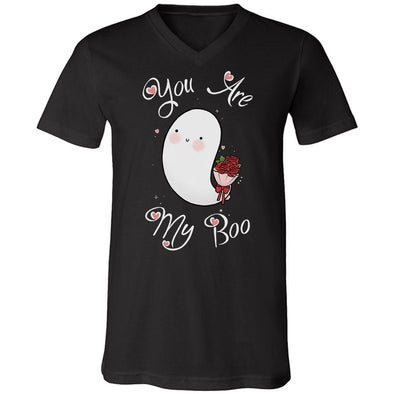 teelaunch T-shirt Canvas Mens V-Neck / Black / S You Are My Boo Unisex V-Neck