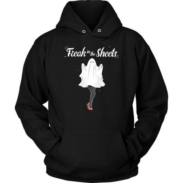 teelaunch T-shirt Unisex Hoodie / Black / S Freak in the Sheets Unisex Hoodie