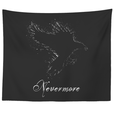 "teelaunch Tapestries 60"" x 50"" Nevermore Tapestry"