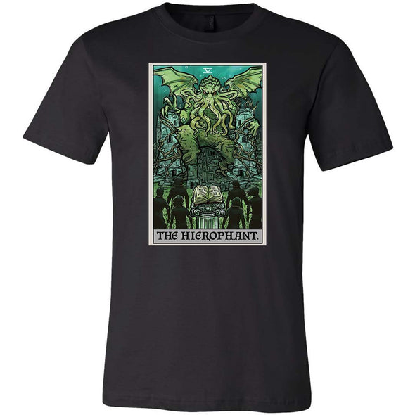 The Ghoulish Garb Black / XS The Hierophant Tarot Card - Ghoulish Edition Unisex T-Shirt