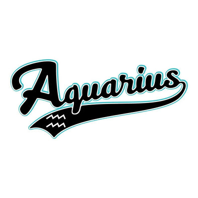 The Ghoulish Garb Design Aquarius - Baseball Style