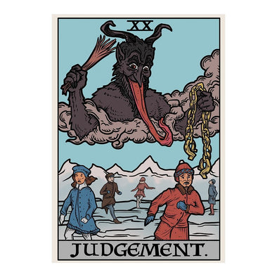 The Ghoulish Garb Design Judgement By Krampus