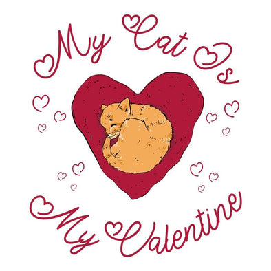 The Ghoulish Garb Design My Cat Is My Valentine