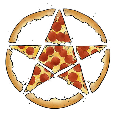The Ghoulish Garb Design Pizzagram