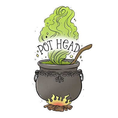 The Ghoulish Garb Design Pot Head