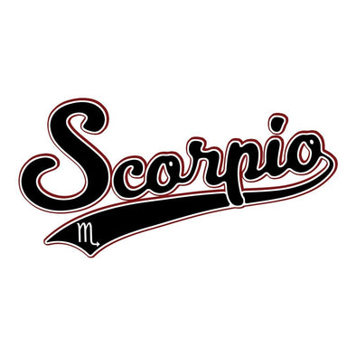 The Ghoulish Garb Design Scorpio - Baseball Style