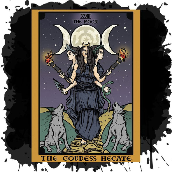 The Ghoulish Garb Design The Goddess Hecate In Tarot