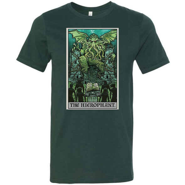 The Ghoulish Garb Forest / S The Hierophant Tarot Card - Ghoulish Edition Unisex T-Shirt