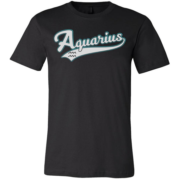 The Ghoulish Garb Graphic Tee Black / S Aquarius - Baseball Style Unisex T-Shirt