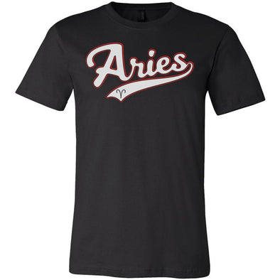The Ghoulish Garb Graphic Tee Black / S Aries - Baseball Style Unisex T-Shirt