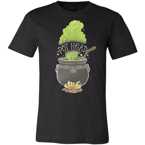 The Ghoulish Garb Graphic Tee Black / S Pot Head T-Shirt