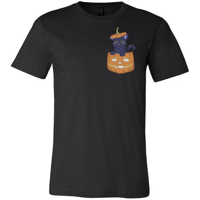The Ghoulish Garb Graphic Tee Black / S The Cat's Out O' The Jack T-Shirt