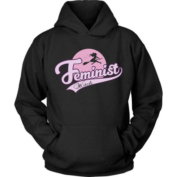 The Ghoulish Garb Hoodie Black / S Feminist Witch Unisex Hoodie
