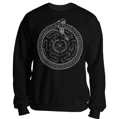 The Ghoulish Garb Sweatshirt Black / S Hecate's Wheel Unisex Sweatshirt