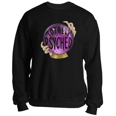 The Ghoulish Garb Sweatshirt Black / S Totally Psyched Unisex Sweatshirt